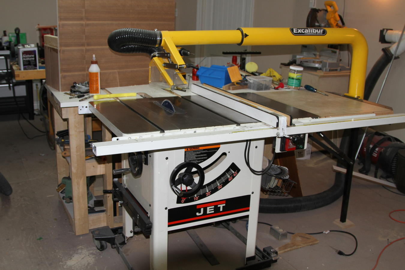 For Sale Jet Jwss 10lfr Hybrid Table Saw W Sliding Table