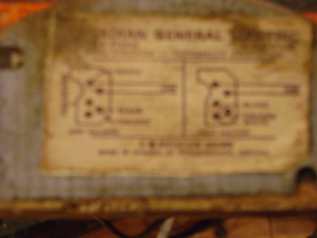 Beaver CS3200 Restoration (CGE Motor Wiring Help + Bad Beaver!) - Canadian  Woodworking and Home Improvement Forum   Ge Motor Wiring Diagram      Canadian Woodworking Forum