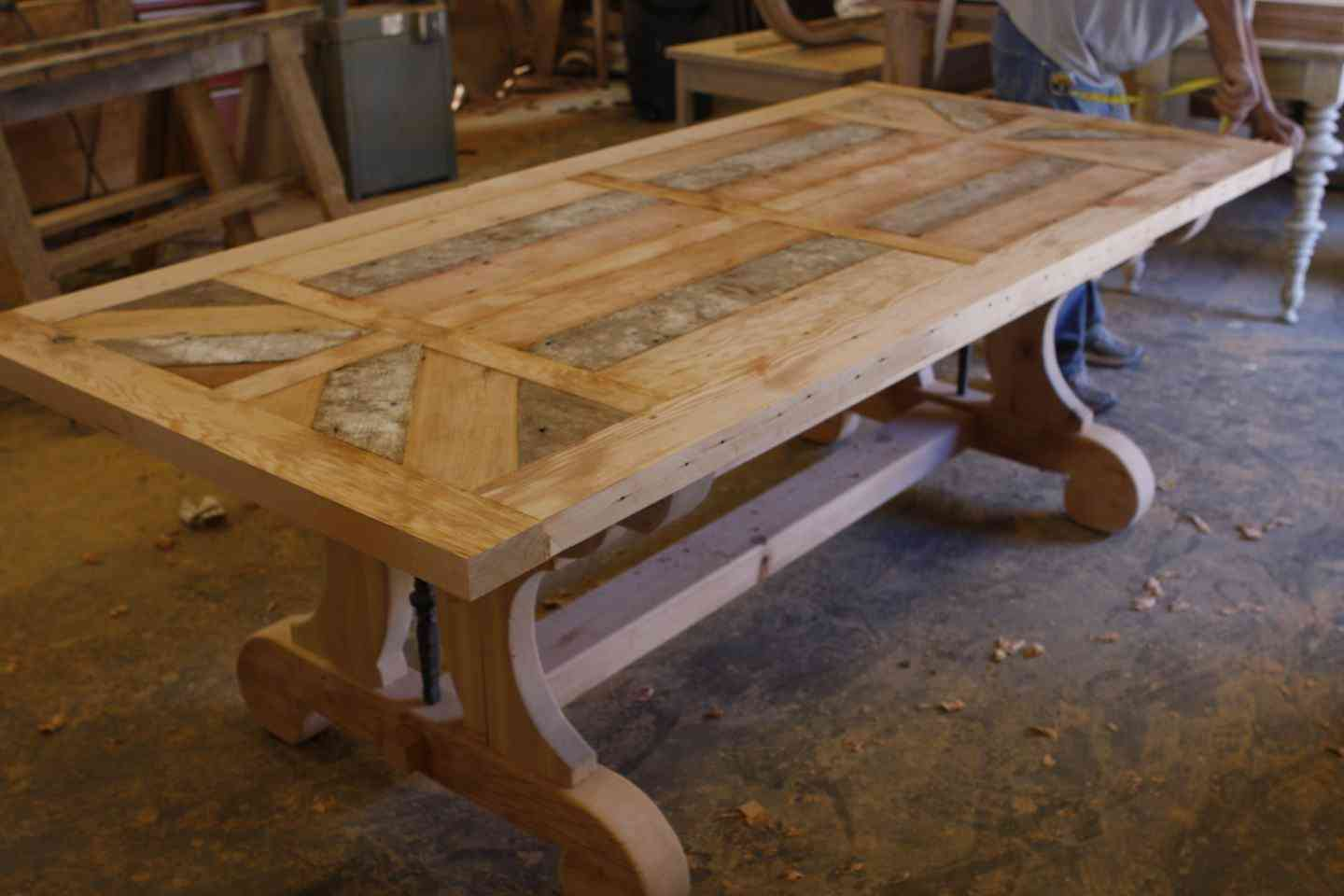 Plans For 12ft Table Canadian Woodworking And Home Improvement Forum