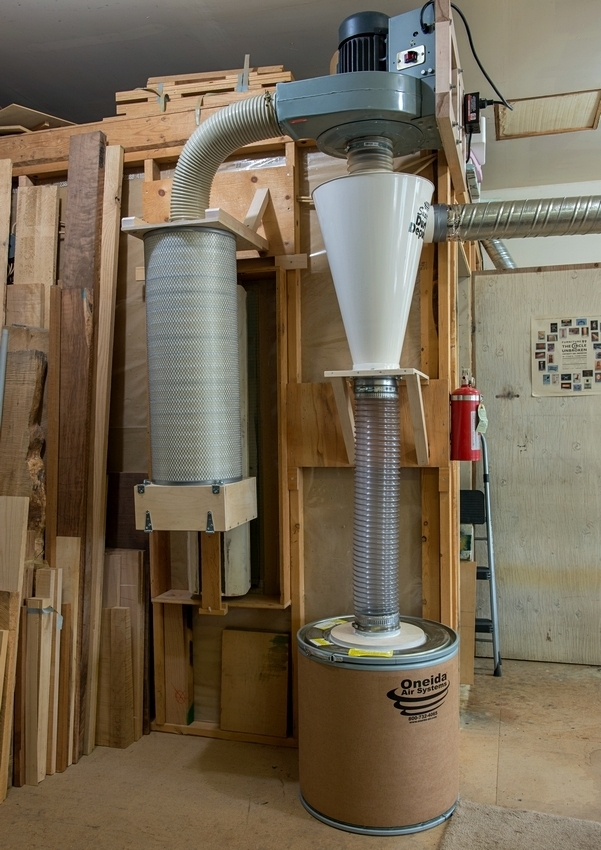 New Dust Collector Is It Good Craftex Cx 400 Canadian Woodworking And Home Improvement Forum