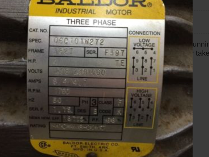 2-3 HP VFD and motor cost & size - Canadian Woodworking and