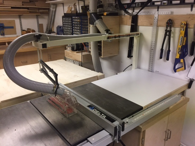 Installing a blade on a table saw choice image wiring table and installation of biesemeyer table saw blade guard system canadian click image for larger version name tabel greentooth Images