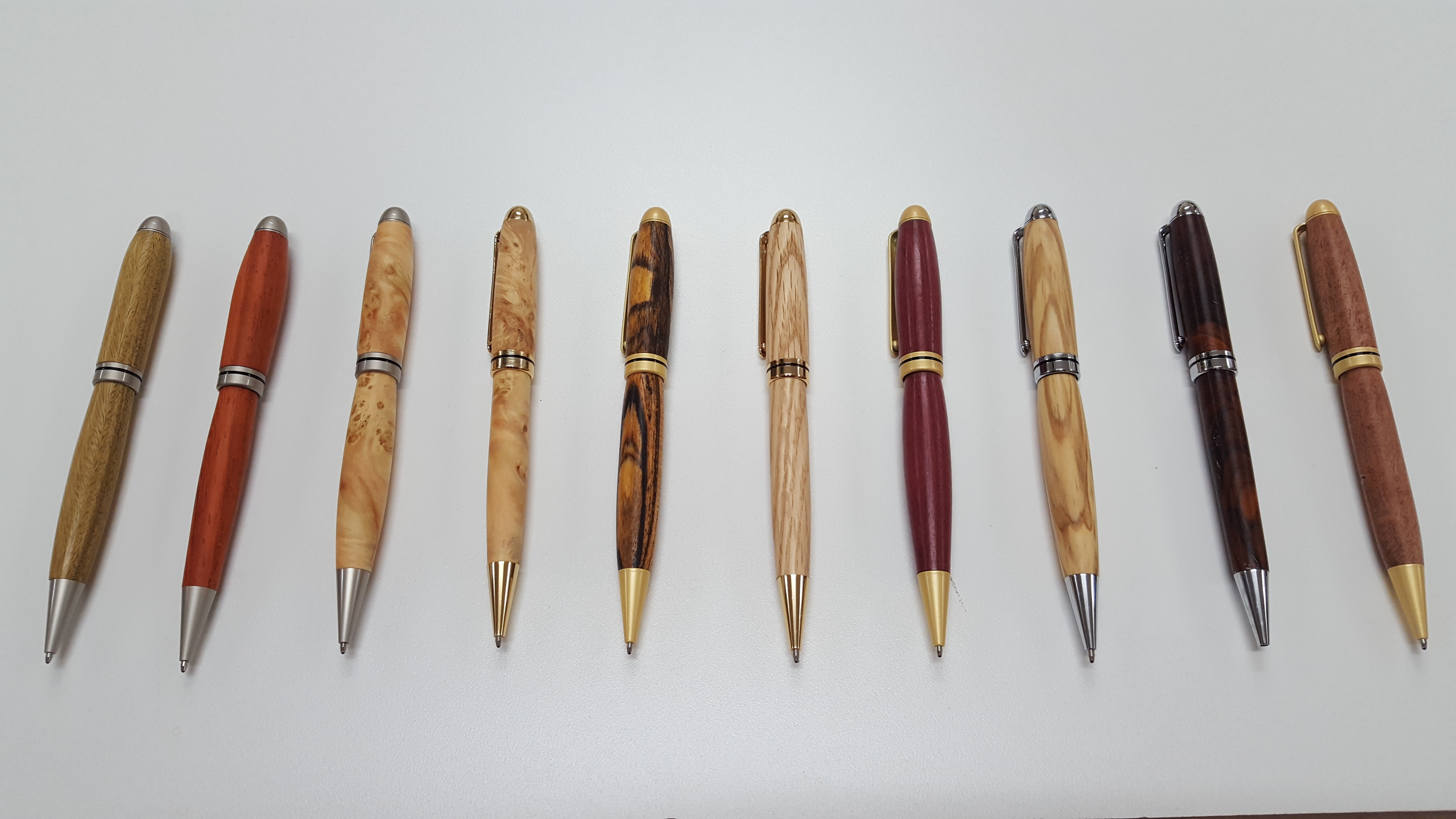 Rockie Pen Turner - Canadian Woodworking and Home