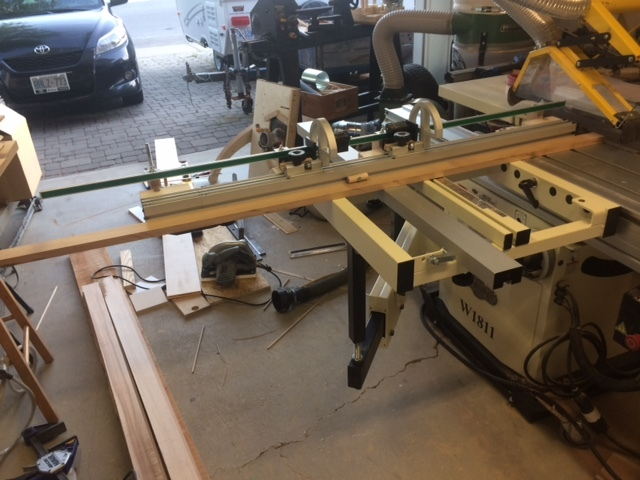 Replacing General 350 Table Saw With A Slider Canadian
