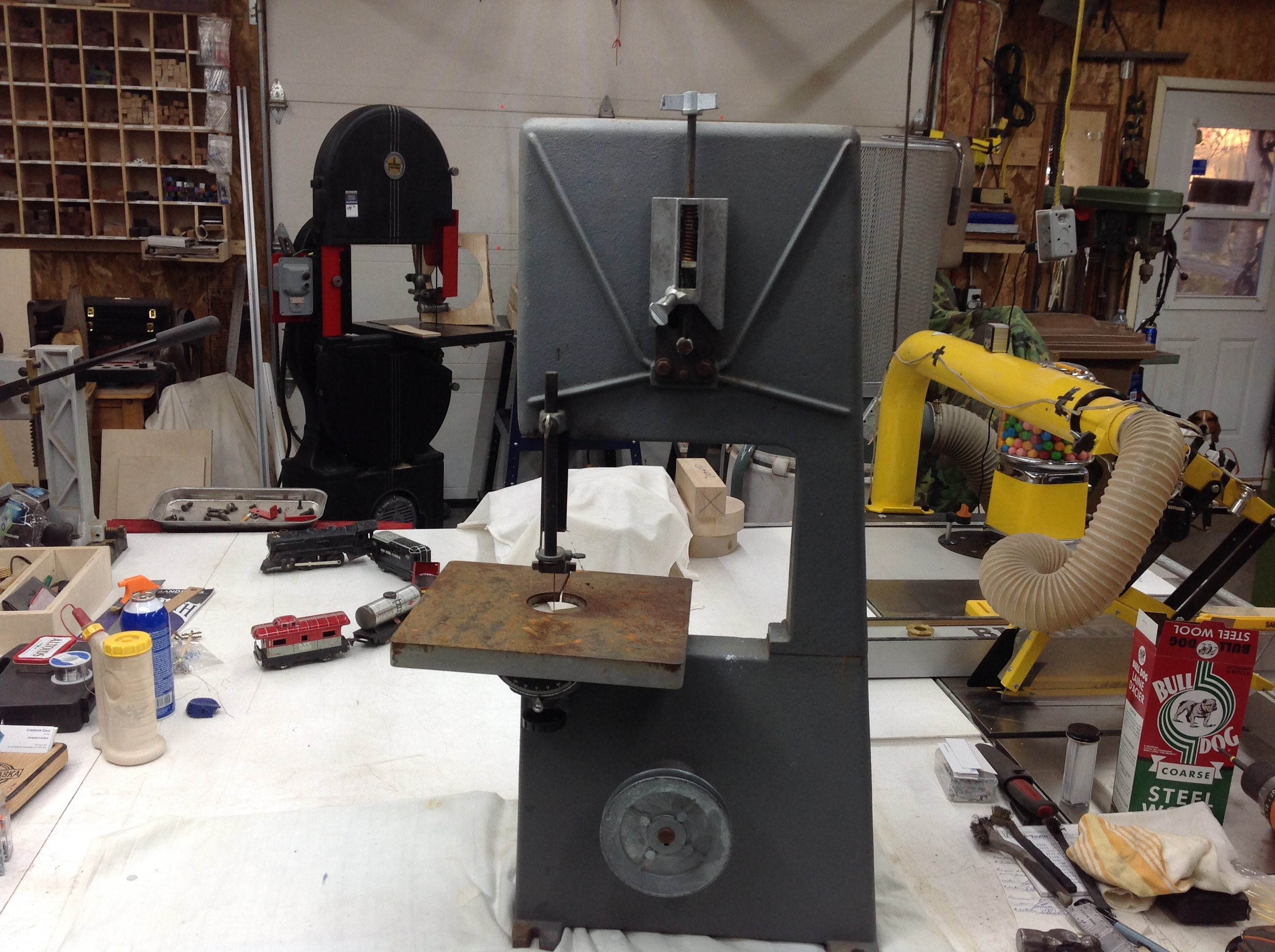 Rockwell Beaver band saw 10'' - Canadian Woodworking and Home