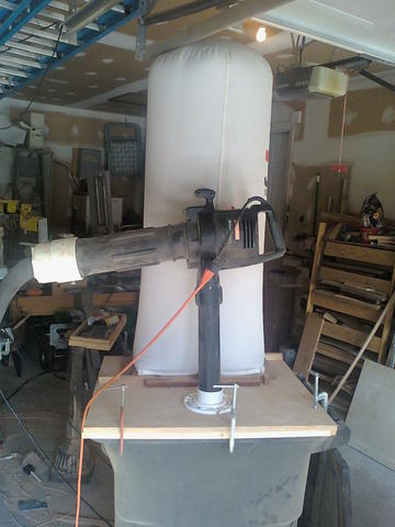 Using A Leaf Blower Vac For Dust Collection Canadian Woodworking And Home Improvement Forum