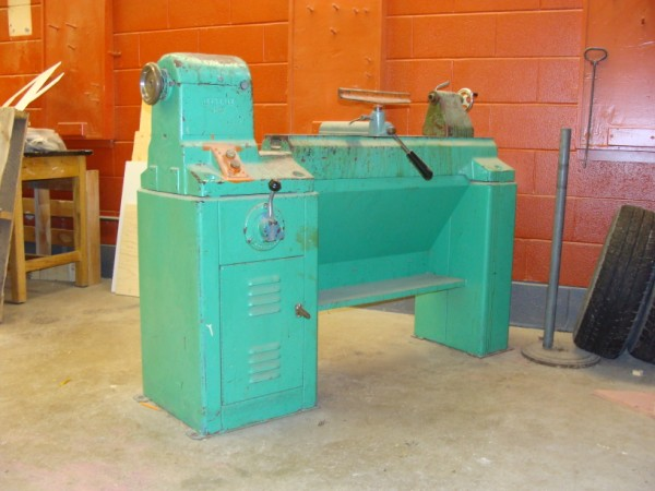 restoring old General 260 variable speed lathe - Canadian