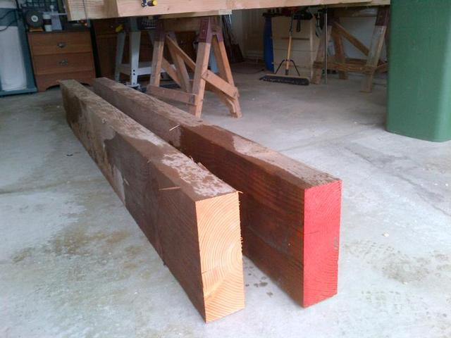 Pleasing Douglas Fir Slab Workbench Top Question Canadian Dailytribune Chair Design For Home Dailytribuneorg