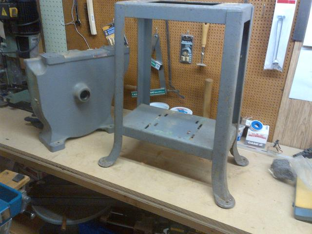 project delta milwaukee band saw restoration canadian woodworking