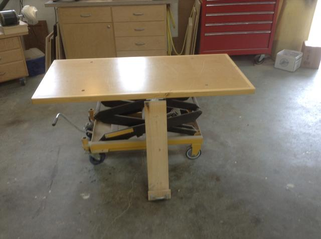 Source For Tilting Hydraulic Plywood Cart Canadian
