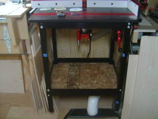 Jessem Router Table Base Cabinet Addition Canadian