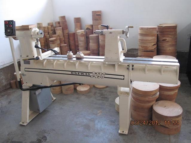 oneway lathe. click image for larger version name: oneway 2436 used.jpg views: 1 size lathe