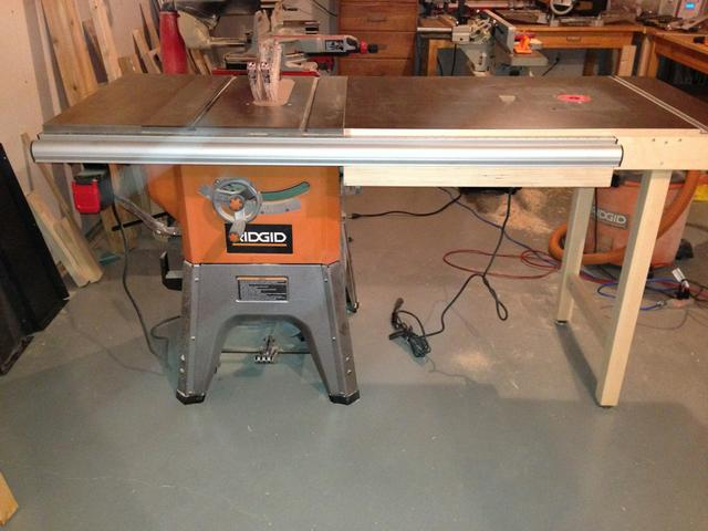 My ridgid r4512 table saw setup with homemade router table extension click image for larger version name imageuploadedbytapatalk1354069539801010g views 1 size greentooth Image collections