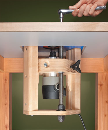 Shopmade router lift frustrations canadian woodworking and home click image for larger version name photo largeg views 1 size greentooth Gallery