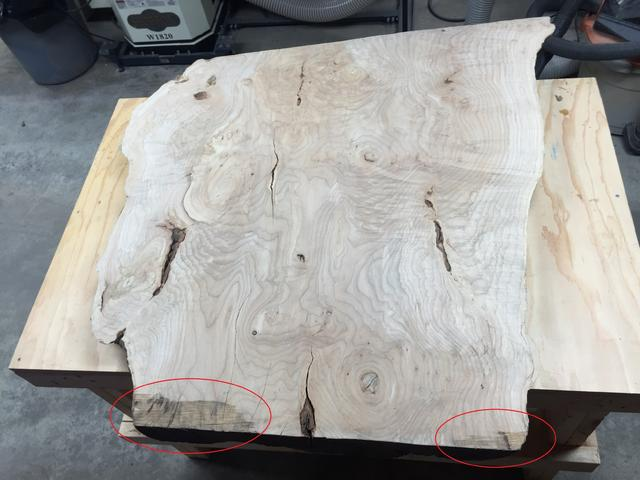Cool Epoxy Live Edge W Uneven Surface Canadian Woodworking And Download Free Architecture Designs Licukmadebymaigaardcom
