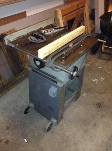 table machinery offerup tools saw scappoose item rockwell detail in or
