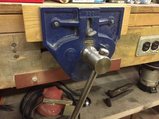 Record 52D Bench Vise - Canadian Woodworking and Home